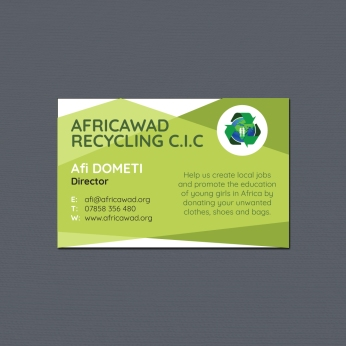 Africawad Business Card